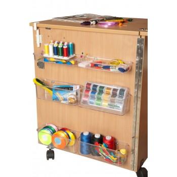 Стол для швейной машины и оверлока Комфорт-4L