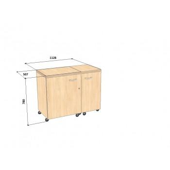 Стол для швейной машины и оверлока Комфорт-5XL+