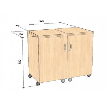 Стол для швейной машины и оверлока Комфорт-7+