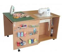 Стол для швейной машины и оверлока Комфорт 1Q-до 10кг