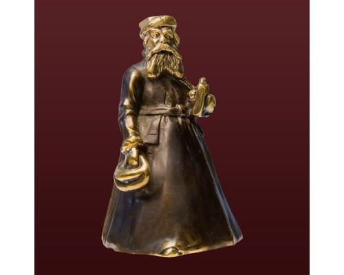 """Колокольчик из бронзы """"Золотарь"""""""