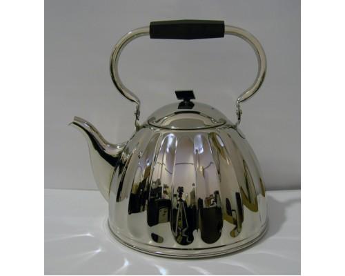 Чайник 3,5 литра Кольчугинский никелированный